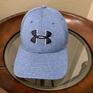Under Armour Light Blue Baseball Cap Stitched Logo